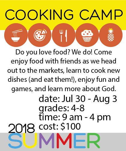 Cooking Camp